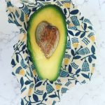 Avocado in a beeswax wrap