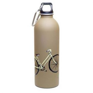 Earthlust Stainless Steel Water Bottle 1000ml – Bicycle Brown