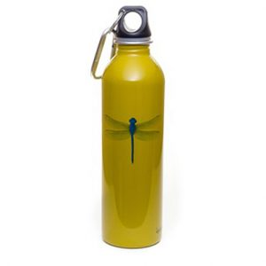 Earthlust Stainless Steel Water Bottle 600ml – Dragonfly
