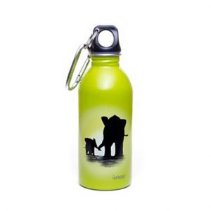 Earthlust Stainless Steel Water Bottle 380ml – Elephant