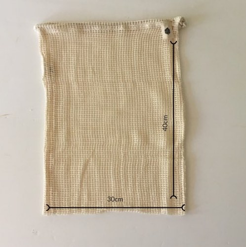 Ever Eco Organic Cotton Mixed Set of 4 Produce Bags