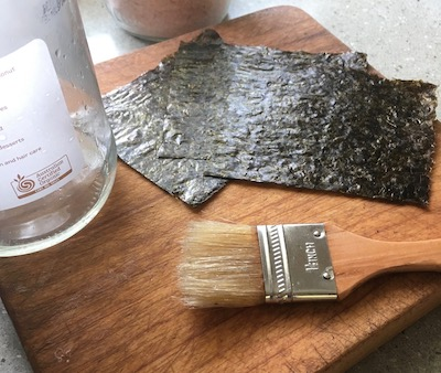 how to make your own nori snacks at home