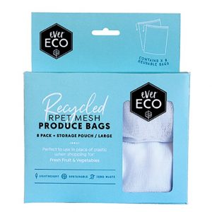 Ever Eco Reusable Produce Bags RPET Mesh 8 PACK