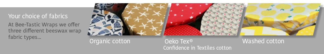 beeswax wrap fabric choice