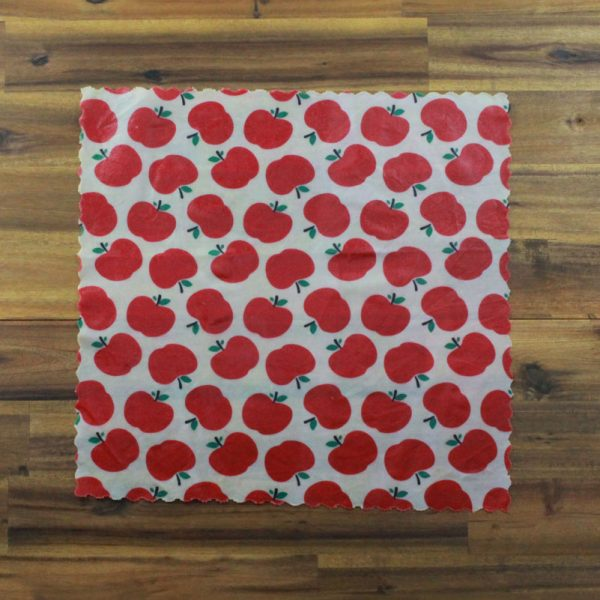 Large Washed Cotton Beeswax Wraps