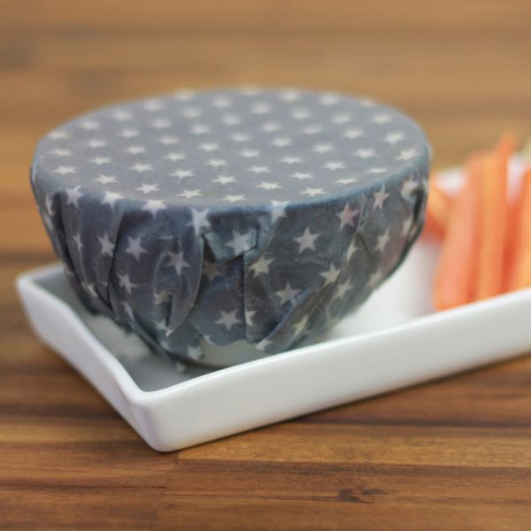 Twin Small Pack – Washed Cotton Beeswax Wraps
