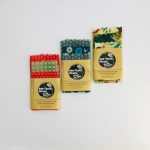 Oeko-Tex Confidence in Textiles Beeswax Wraps Starter Pack – Set of 3