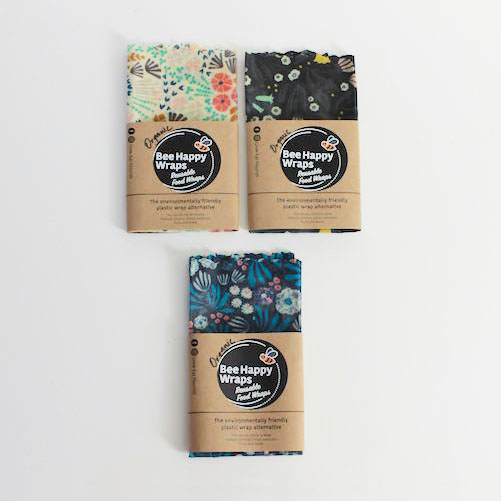Large Organic Beeswax Wraps