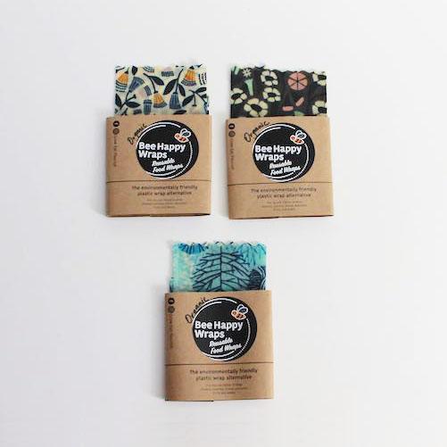 Small Organic Beeswax Wraps