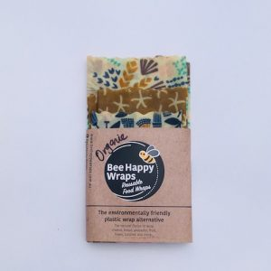 Organic Beeswax Wrap Starter Pack – Springtime