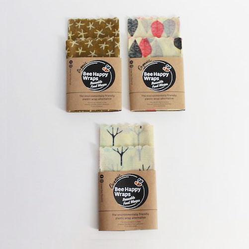 Twin Medium Pack – Organic Beeswax Wraps