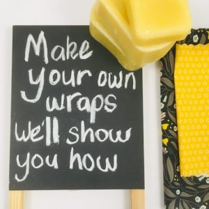 Make your own Beeswax Wraps Workshop