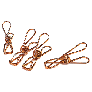 Activated Eco Rose Gold Stainless Steel Infinity Pegs – Single peg