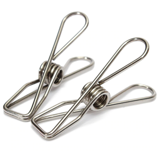 Activated Eco Stainless Steel Infinity Pegs – Pack of 20