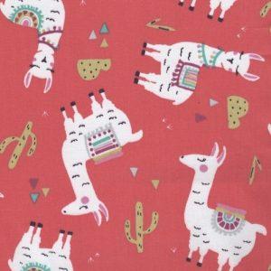 Vibrant lama (Oeko-Tex fabric)