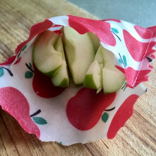 plastic free reusable snack bag