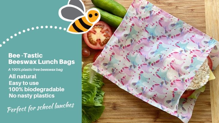 plastic free reusable sandwich bag