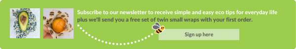 Subscribe a receive a set of twin small wraps with your first order