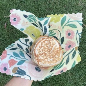Single Medium Organic Beeswax Wraps