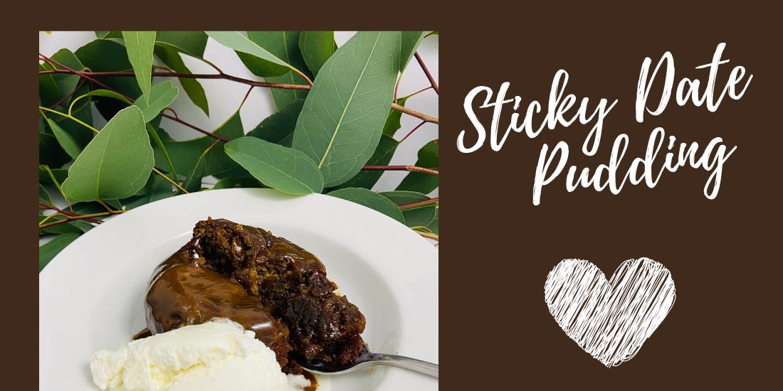 sticky date pudding header