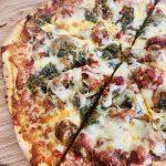 Gluten free cassava flour pizza base