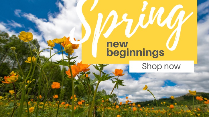 Spring is time for new beginnings