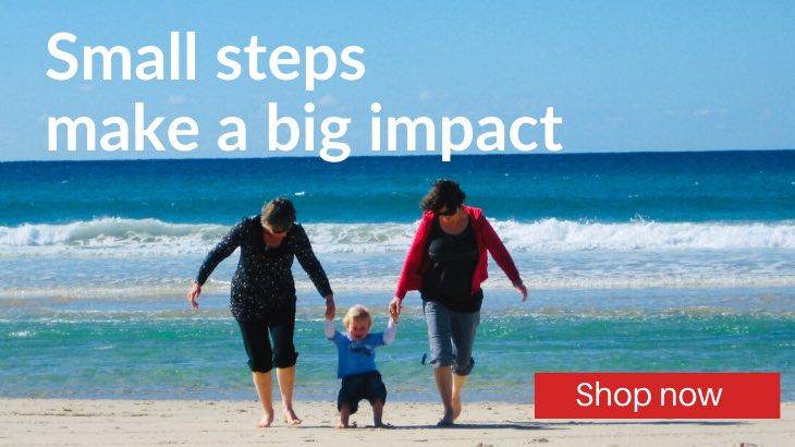 Small steps make a big impact