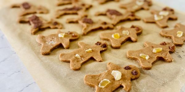 Gluten free gingerbread men