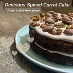 healthy carrot cake recipe