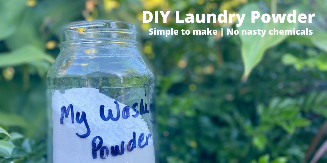 Laundry powder recipe